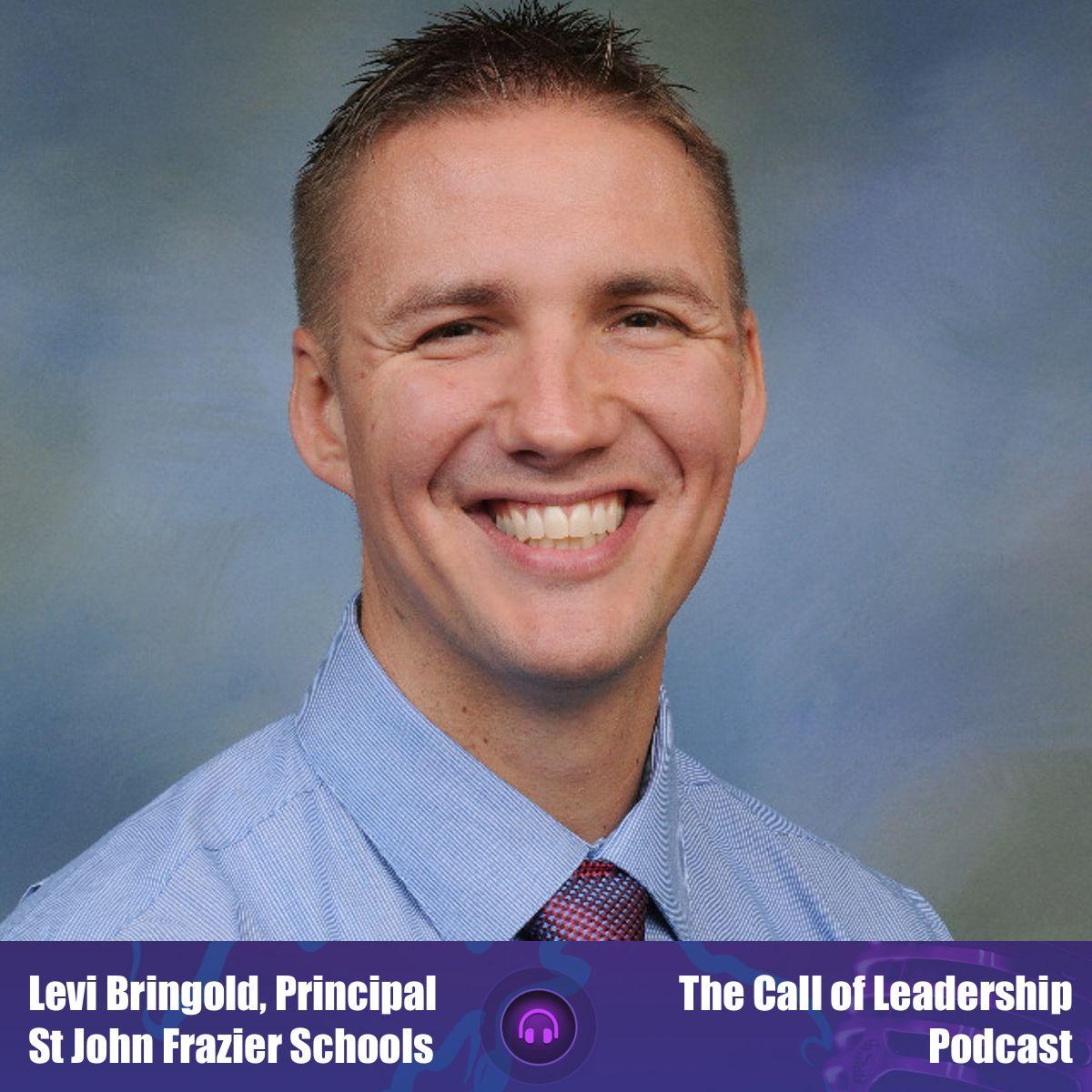 Levi Bringold - Princpal St John in Frazer